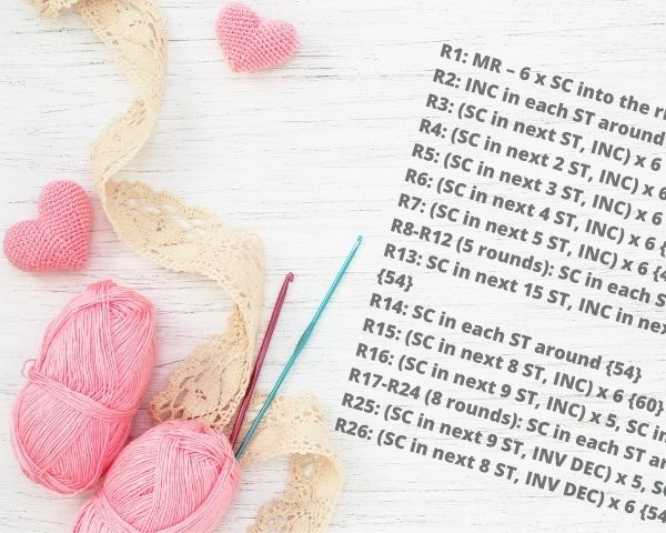 How to Read Amigurumi Patterns