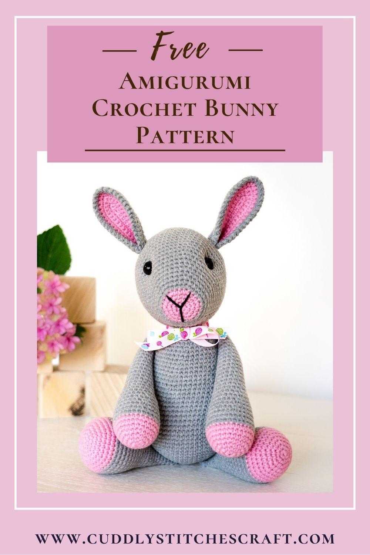 Free crochet bunny pattern (2)