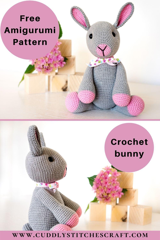 Free crochet bunny pattern (8)
