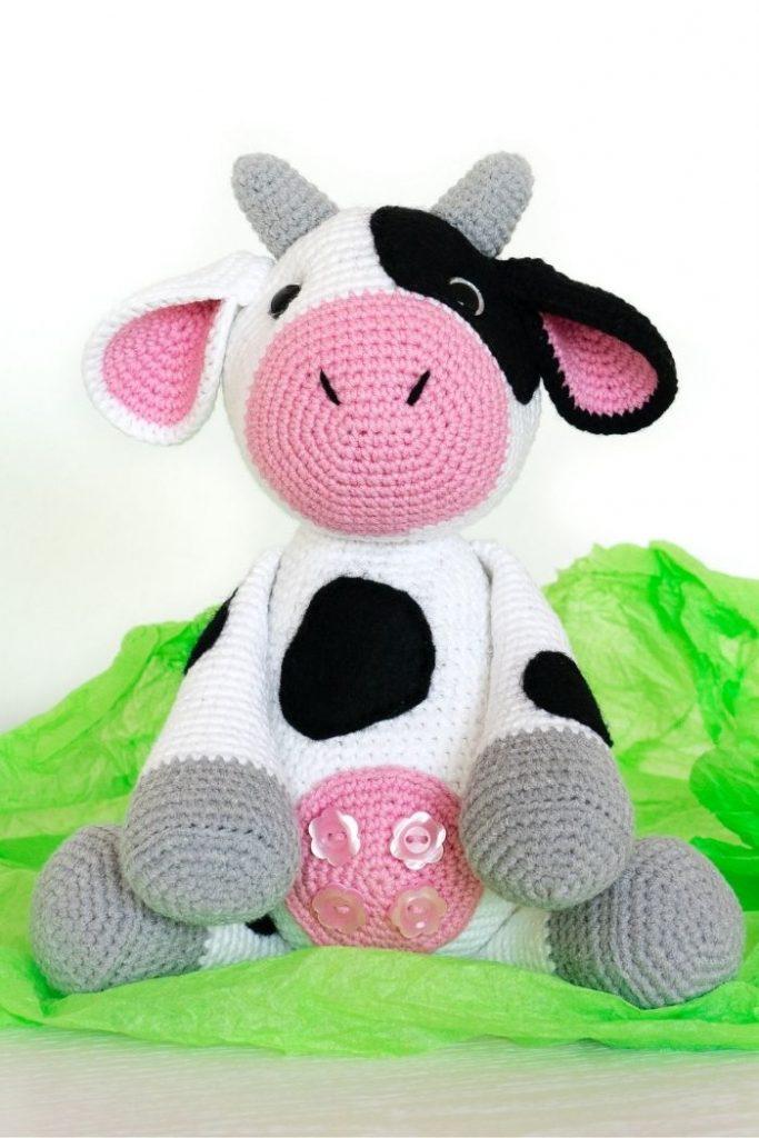 Free crochet cow pattern (3)