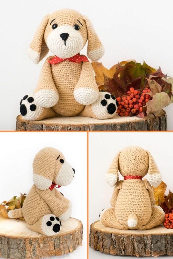 Free crochet dog pattern (8)