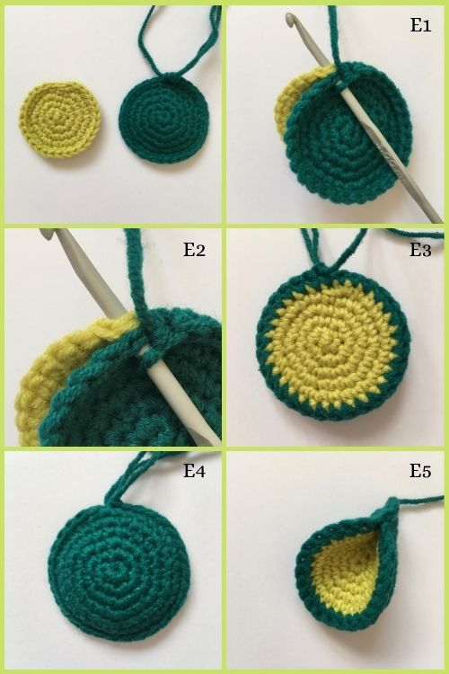instructions on how to crochet dragon toy ears