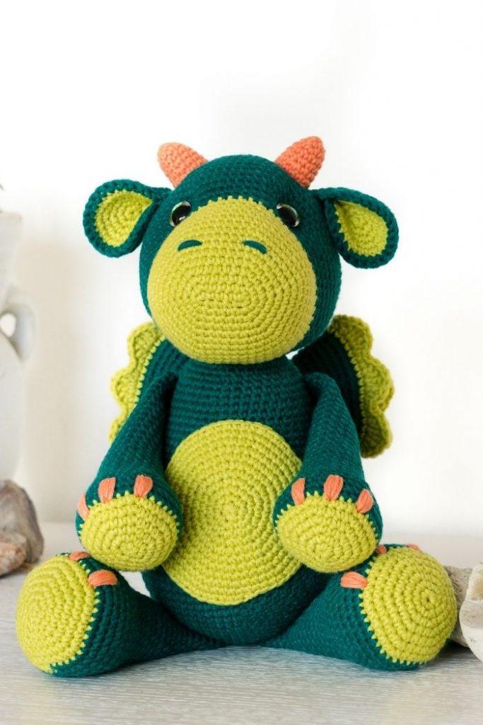 Free crochet dragon pattern (9)