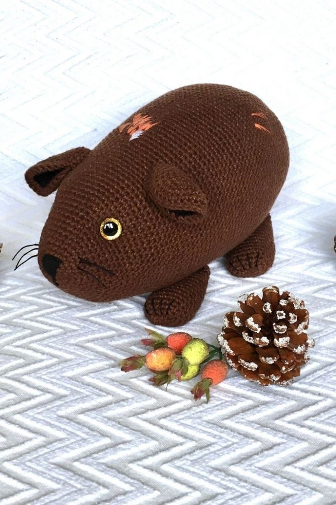 Free crochet guinea pig pattern (8)