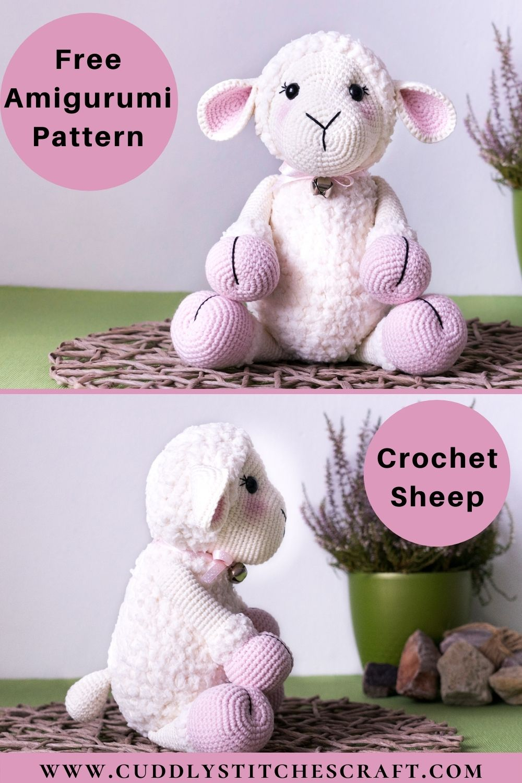 Free crochet sheep pattern (8)