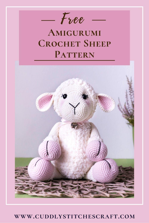Free crochet sheep pattern (9)