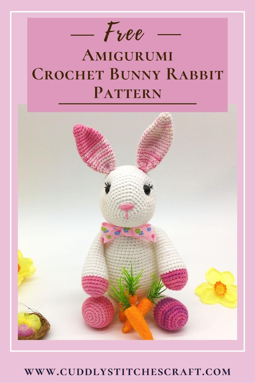 Free crochet bunny rabbit pattern (4)