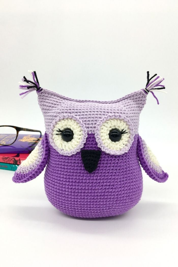 Free crochet owl pattern, Amigurumi owl