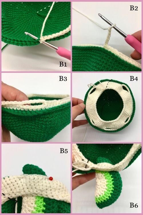 Free crochet turtle pattern, Amigurumi turtle tutorial (5)