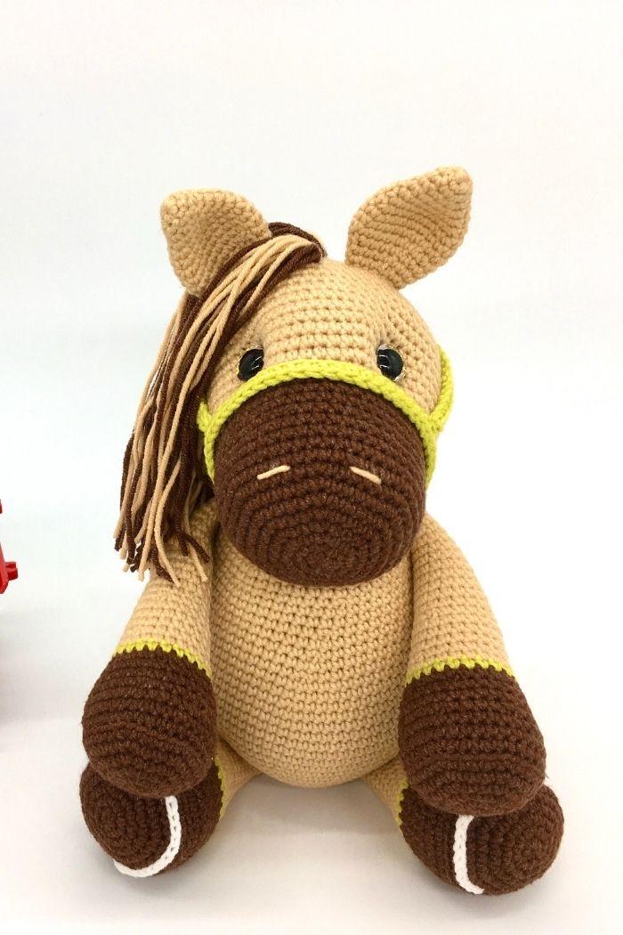 Free crochet horse pattern, free Amigurumi horse pattern (2)