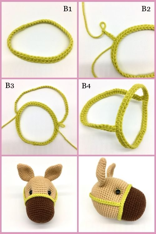 Free crochet horse pattern, free Amigurumi horse pattern (9)