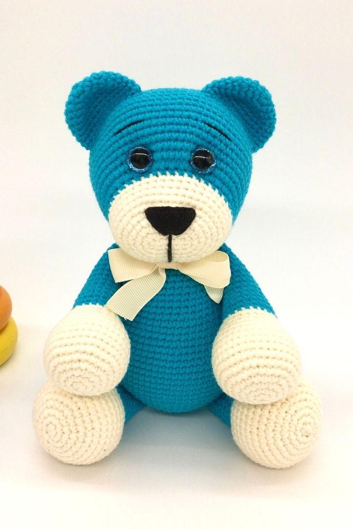 Free crochet bear pattern, free Amigurumi bear pattern (2)