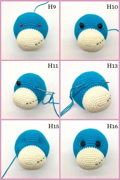 Free crochet bear pattern, free Amigurumi bear pattern (6)