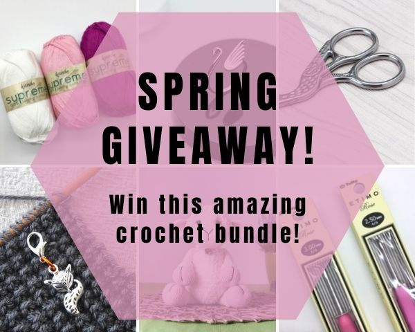 Fantastic Spring Giveaway! Win this Amazing Crochet Bundle!