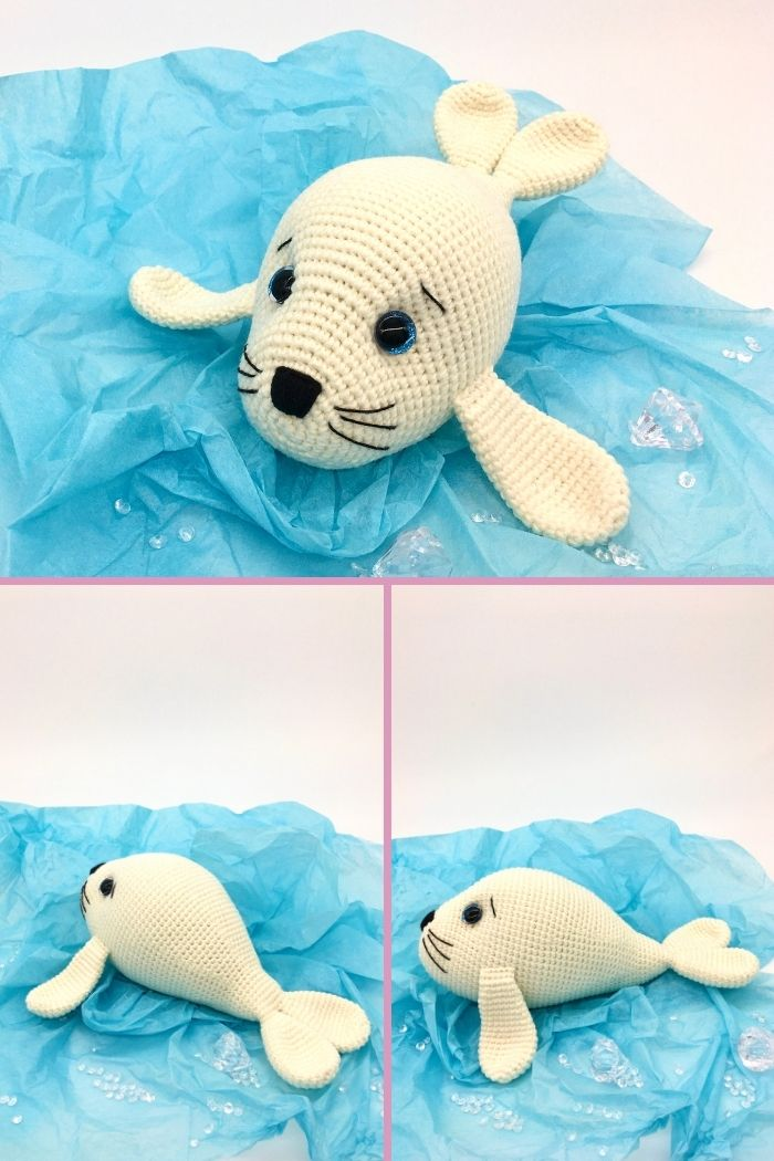 Free crochet seal pattern, free Amigurumi seal pattern (3)